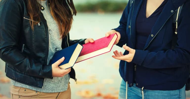 Compartilhando livro